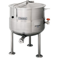 Cleveland KDL-200 200 Gallon Stationary 2/3 Steam Jacketed Direct Steam Kettle