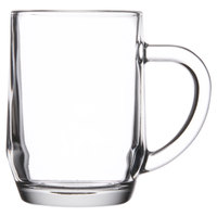 Libbey 5724 10 oz. Glass Coffee Mug 36/Case