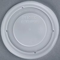 Dinex DX33008714 Translucent Disposable Lid for Dinex Turnbury 9 oz. Bowl 1000/Case
