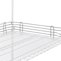 Metro L72N-4S Super Erecta Stainless Steel Stackable Ledge 72 inch x 4 inch