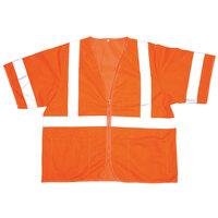 Orange Class 3 High Visibility Safety Vest - Medium