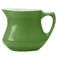 Hall China 30196W324 Shamrock 5.5 oz. Empire Creamer 24 / Case