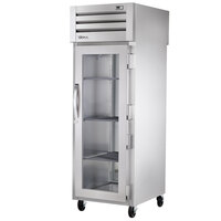 True STA1RPT-1G-1S Specification Series Front Glass Door / Rear Solid Door Pass-Through Refrigerator - 31 Cu. Ft.