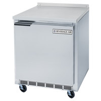 Beverage Air WTF27A 27 inch Single Door Compact Worktop Freezer - 7.3 cu. ft.