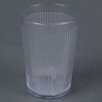 Carlisle 401007 Clear Crystalon SAN Tumbler 9.5 oz. - 12 / Pack