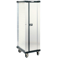 Metro DSC6N 40 Pan End Load Uninsulated Bun / Sheet Pan Rack / Delivery / Storage Cabinet Enclosed with Lockable Door - Assembled