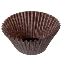 2 inch x 1 3/4 inch Glassine Baking / Candy Cups 500 / Pack