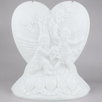 Carlisle SHR102 Heart Shaped Ice Sculpture Mold