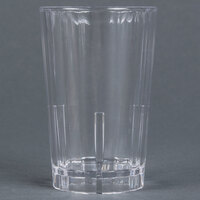Cambro HT5CW135 Clear Camwear Huntington 5 oz. Customizable Squat Plastic Tumbler - 36 / Case