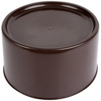 Carlisle 221101 Brown Round Replacement Base for 3-Gallon and 5-Gallon Beverage Dispensers
