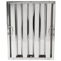 20 inch x 16 inch x 2 inch Stainless Steel Hood Filter
