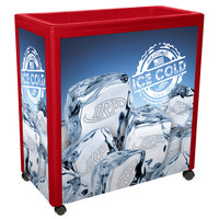 Red Avalanche 300 Mobile 112 Qt. Cooler Merchandiser