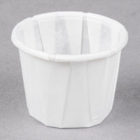 Genpak F050 .5 oz. Harvest Paper Souffle / Portion Cup - 250/Pack