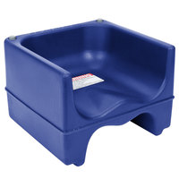 Cambro 200BC186 Plastic Booster Seat - Dual Seat - Navy Blue