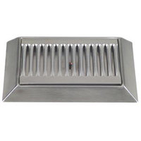 Micro Matic DP-420D 9 inch Stainless Steel Bevel Edge Drip Tray with 1/2 inch ID Drain