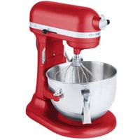 KitchenAid KP26M1XER Empire Red Professional 600 Series 6 Qt. Countertop Mixer