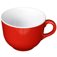 Passion Red 23 oz. Melamine Mug - 6/Pack