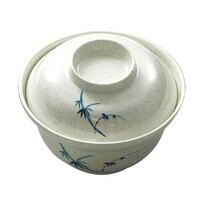 Blue Bamboo Melamine 20 oz. Noodle Bowl – 5 3/4 inch 12 / Pack
