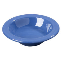 Carlisle 3304214 4 3/4 inch Ocean Blue Sierrus 4.5 oz. Rimmed Fruit Bowl - 48 /Case