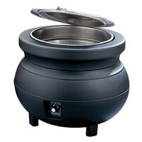 Vollrath 72165 11 Quart Soup Warmer Kettle Black - 120V, 650W