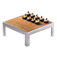 Cal-Mil 1481-10-60 10 inch Square Bamboo Tray