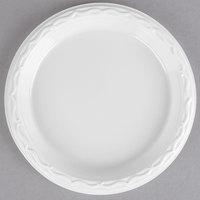 """Genpak 70600 Aristocrat 6"""" White Premium Plastic Plate   - 125/Pack"""