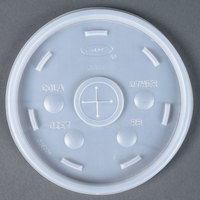 Dart Solo Conex 20SL Translucent Lid with Straw Slot - 1000/Case