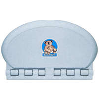 Koala Kare KB208-12 Gray Granite Horizontal Oval Baby Changing Station