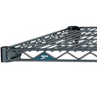 Metro 1424N-DSH Super Erecta Silver Hammertone Wire Shelf - 14 inch x 24 inch