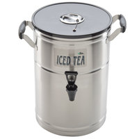 3 Gallon Satin-Finish Stainless Steel Iced Tea Dispenser