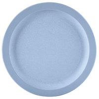 Carlisle PCD20959 Slate Blue 9 inch Polycarbonate Narrow Rim Plate 48/Case