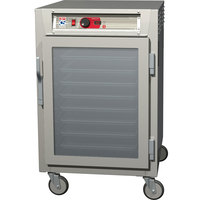 Metro C585-SFC-UPFS C5 8 Series Reach-In Pass-Through Heated Holding Cabinet - Solid / Clear Doors