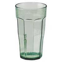 Cambro LT6427 Laguna 6 oz. Spanish Green Customizable Plastic Tumbler - 36/Case