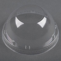 Dart Solo Conex 20LCDH Clear Dome Lid with Hole 50 / Pack