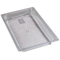 Carlisle 10200B07 Full Size 2 1/2 inch Deep Food Pan - Clear