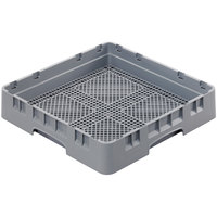 Cambro FR258151 Soft Gray Full Size Camrack Flatware Rack