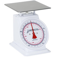 Cardinal Detecto T-50-KP Dual Reading Top Loading Fixed Dial Scale - 50 kg. / 110 lb.