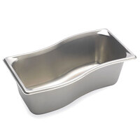 Vollrath 3100341 Super Pan 4 inch Deep Super Shape Wild Pan - 1/3 Size Inner