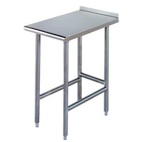 Advance Tabco TFMS-153 15 inch x 36 inch Equipment Filler Table