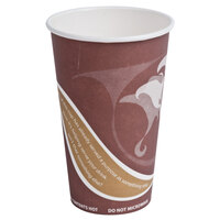 Eco Products EP-BRHC16-EW Evolution World PCF 16 oz. Hot Cups - 1000 / Case