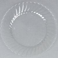 WNA Comet CW75180 Classicware 7 1/2 inch Clear Plastic Plate - 180 / Case