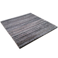 Cactus Mat 29-T Tire-Tex 1 inch x 1 inch Gray Carpet Tile - 3/8 inch Thick