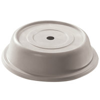 Cambro 1012VS380 Versa 10 3/4 inch Ivory Camcover Round Plate Cover - 12/Case