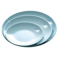 Blue Jade 14 inch Round Melamine Serving Platter - 12/Case