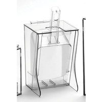 Cal Mil 355 Freestanding Scoop Holder with Scoop and Drip Tray 32 oz.