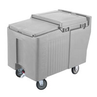 Cambro ICS175L180 Light Gray Sliding Lid Portable Ice Bin - 175 lb. Capacity