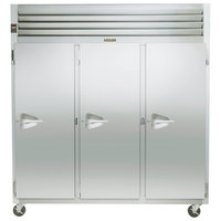 Traulsen G31012 77 inch G Series Three Section Solid Door Reach in Freezer with Right Hinged Doors - 69.1 cu. ft.
