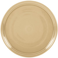 Homer Laughlin 505330 Fiesta Ivory 15 inch China Pizza / Baking Tray - 4 / Case
