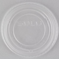 Dart Solo SCCLDSS23 Wide Sauce / Portion Cup Snaptight Lid for 2.5 oz. and 3.5 oz. Cups - 2500/Case