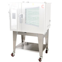 Cleveland CST-10-OBCA Combi Oven Equipment Stand with Open Base and Casters